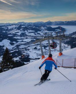 Ski fahren in Österreich