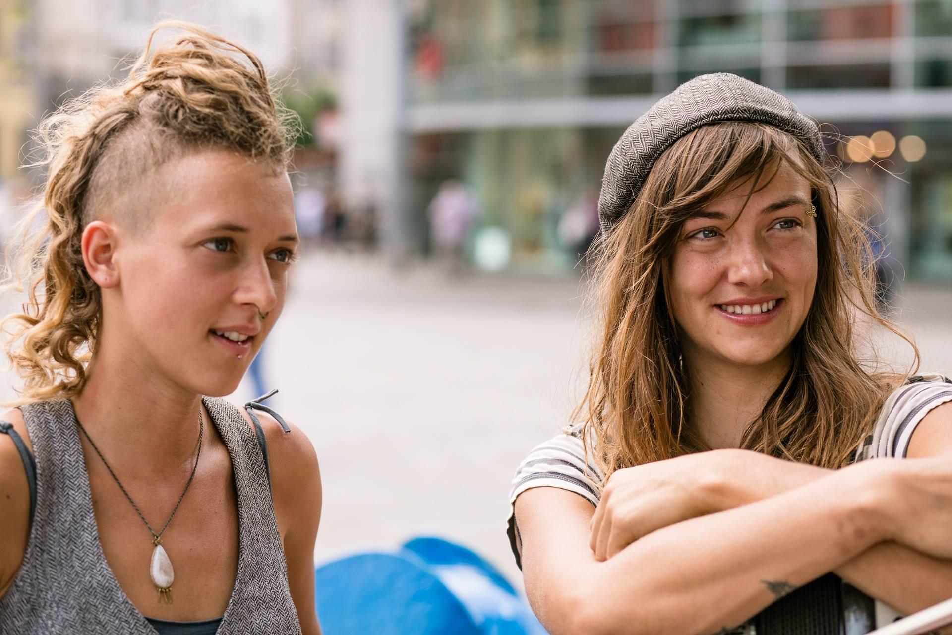 Straßenmusiker aus Montreal