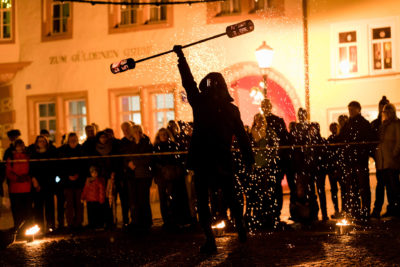 Feuershow Dandeli-on-Fire in Arnstadt
